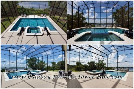 Calabay Parc At Tower Lake - Awesome Pool Deck